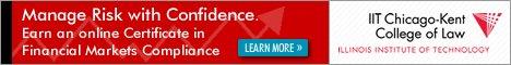 IIT Financial Markets Compliance Banner Ad