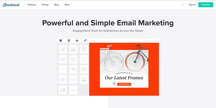 Benchmark Email Marketing Software