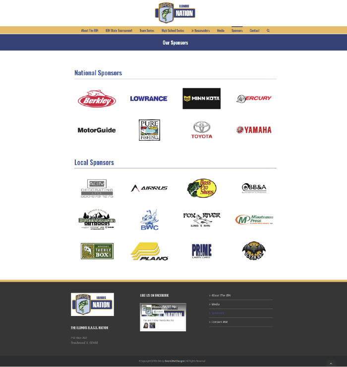 IBN Sponsors Page